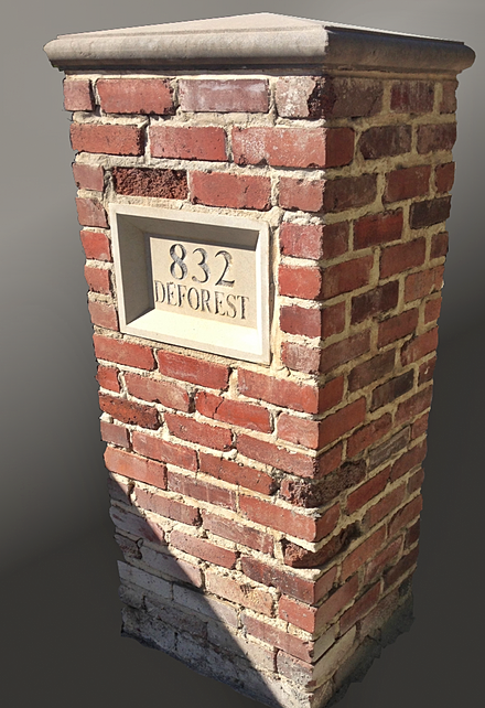 modern mortars with vintage brick can cause brick to deteriorate