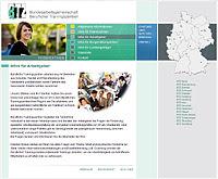 Webdesign-Agentur designbetrieb aus Essen entwickelt Barrierefreier Internetauftritt für die Bundesarbeitsgemeinschaft der BTZn BAG BTZ www.bag-btz.de