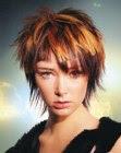 free spirited hairstyle