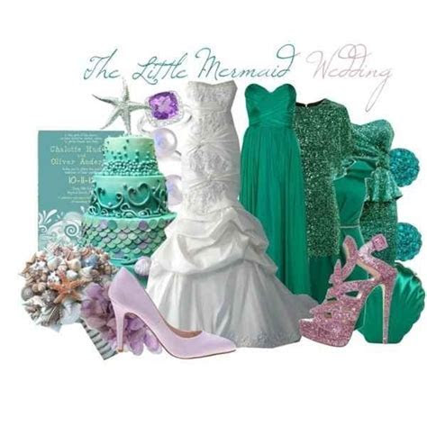 Best 20  Little mermaid wedding ideas on Pinterest