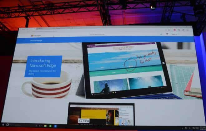 Microsoft Edge é o novo Sucessor do Internet Explorer