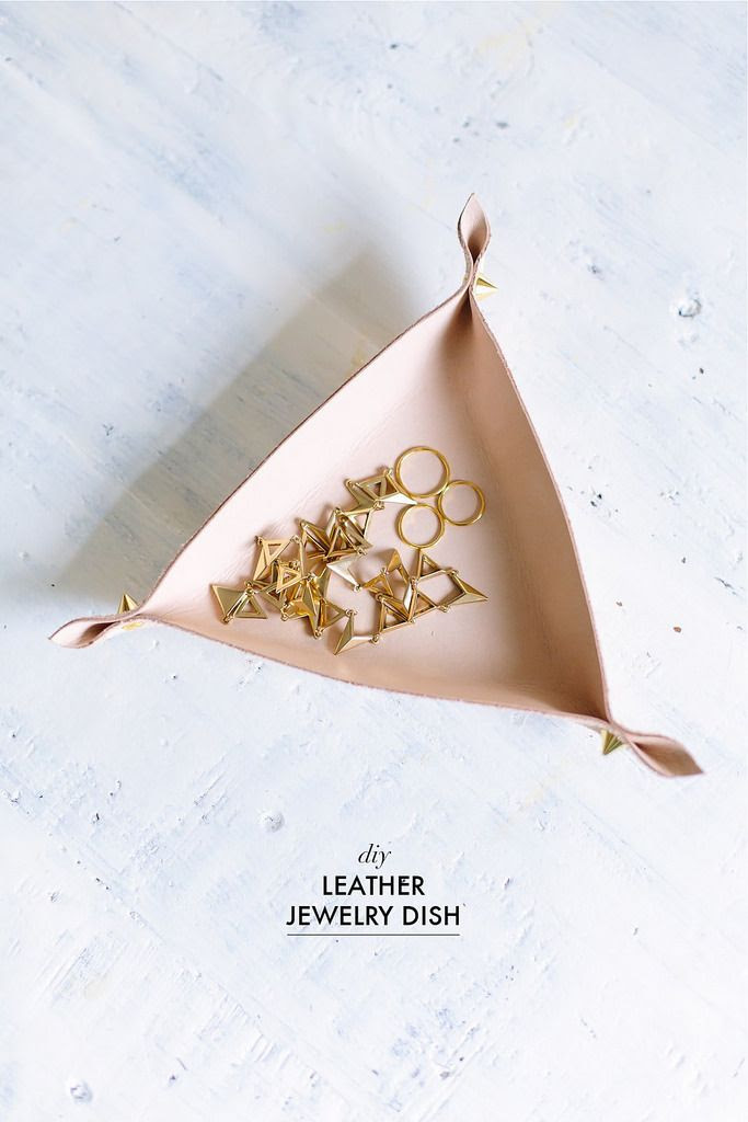 Le Fashion Blog Do It Yourself DIY Leather Jewelry Dish Catch All Ring Holder Via A Pair And A Spare photo Le-Fashion-Blog-Do-It-Yourself-DIY-Leather-Jewelry-Dish-Catch-All-Ring-Holder-Via-A-Pair-And-A-Spare.jpg