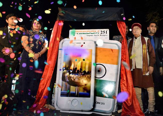 Freedom 251 has nothing to do with Make in India: Amitabh Kant