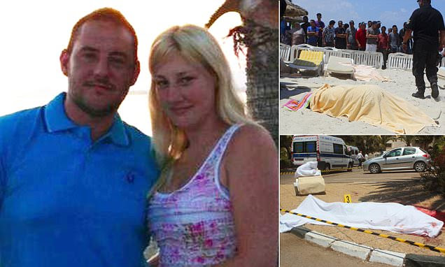Fiancee in Tunisia tells how Matthew James used his body to shield her from bullets