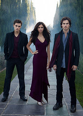 Cast of THE VAMPIRE DIARIES (season finale this Thursday) by omTVserier © All rights reserved. [click to enlarge]
