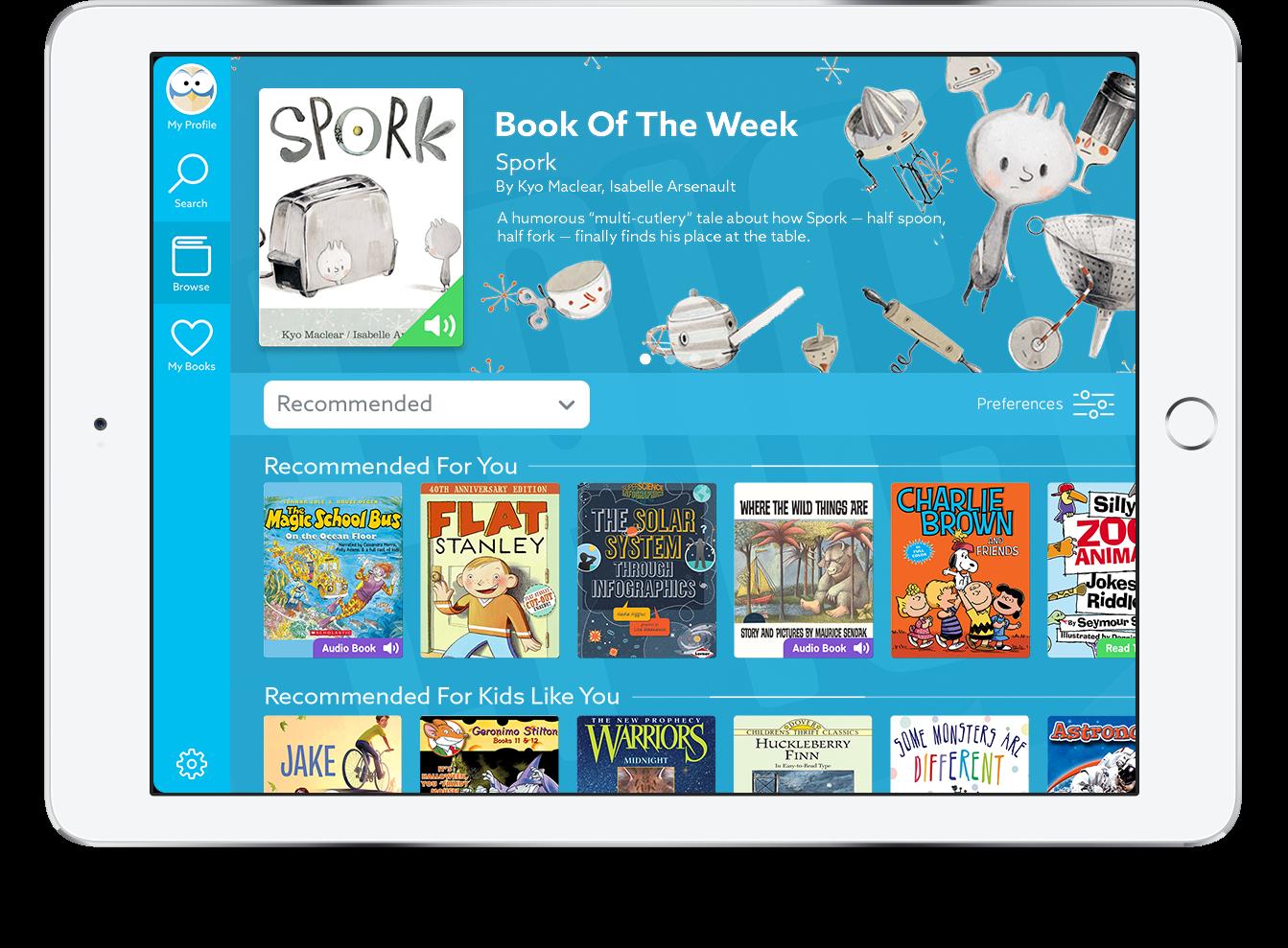 Epic! on iPad