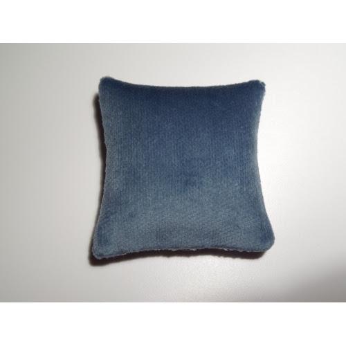 Modern Dollhouse Furniture | M112 PODS | Blue Velvet Large Square ...