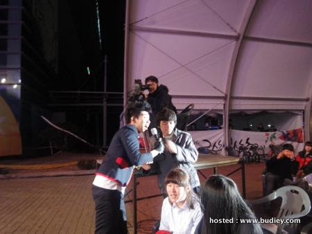 Dior's 3rd performance.Pop's Concert in Geumsan,Korea-with fans.