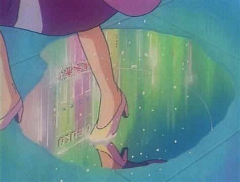 rainbow puddles anime art anime aesthetic anime