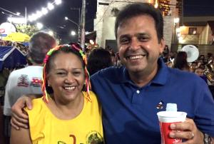 Fátima lidera pesquisa com rejeição maior que a soma de seus adversários; Carlos Eduardo encosta dentro da margem de erro