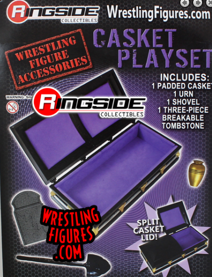 Ringside Collectibles Coffin