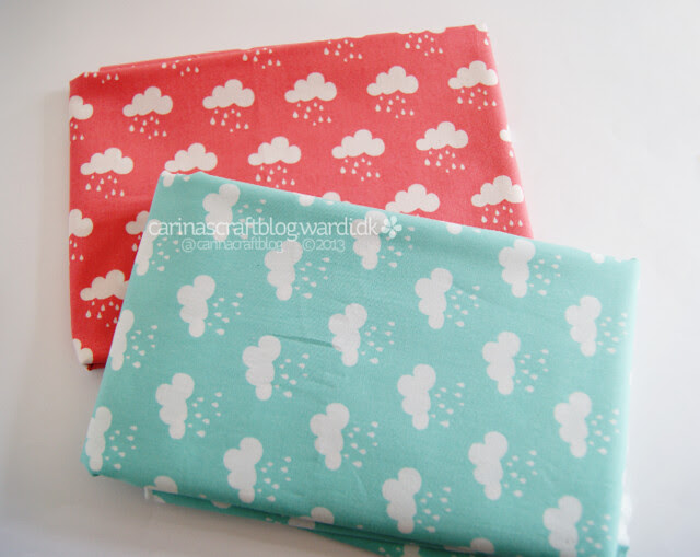 Pretty cloud fabric