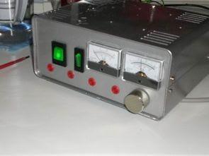 UA723 2N3055 0 30 Volt 5 Amps Nguồn cung cấp