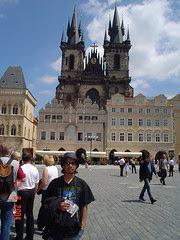 Church of Our Lady before Týn kat Old Town Square, Prague, Czech Republic