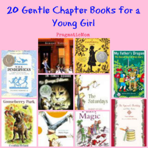 chapter books for young girl