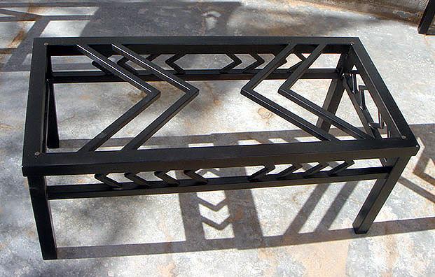 Woodwork Metal Coffee Table Design PDF Plans