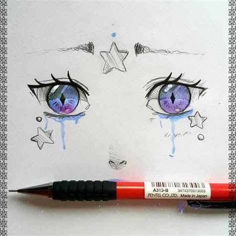 lariennedeviantartcom eyes doodle  today art