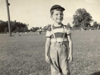 Stephen King as child