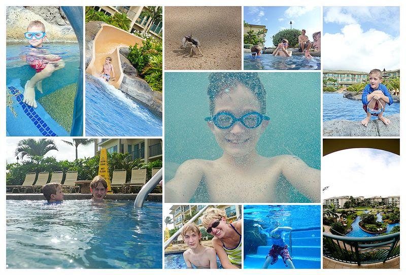 kapaa life in the pool