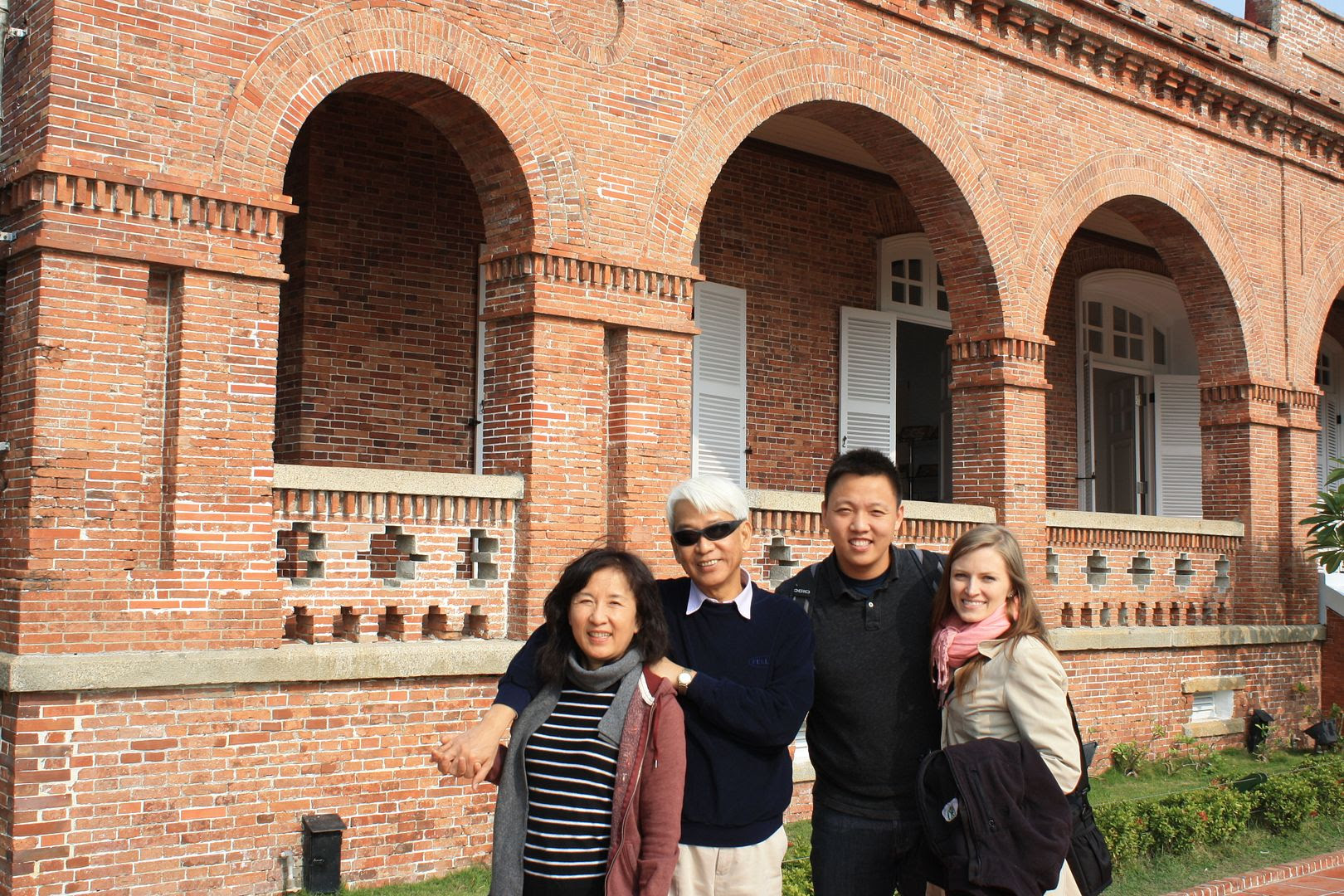 Us at the Former British Consulate in Kaohsiung