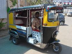 stretch rickshaw