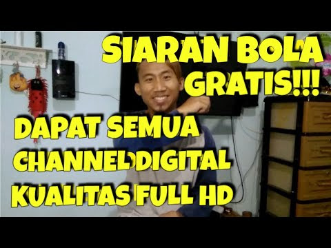 CARA SETING TV DIGITAL DAN UPDATE SIARAN TV DIGITAL TERBARU 2019
