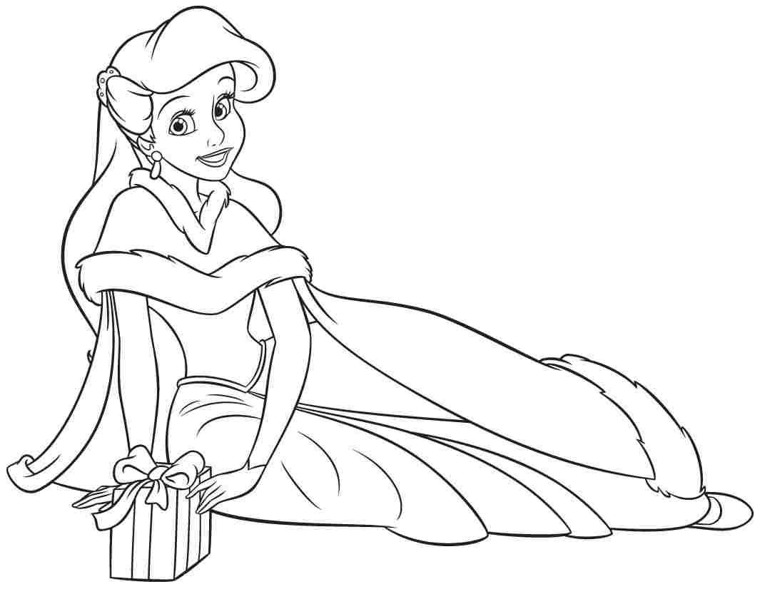 Ariel Coloring Pages Online At Getdrawingscom Free For Personal