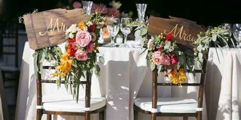 Wedding Wednesday :: Bride & Groom Chairs   Flirty Fleurs