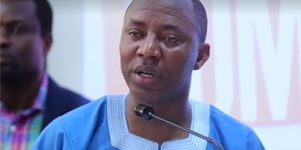 Image result for Sowore: With N30k minimum wage, It will take 38 years to earn a senator's monthly pay