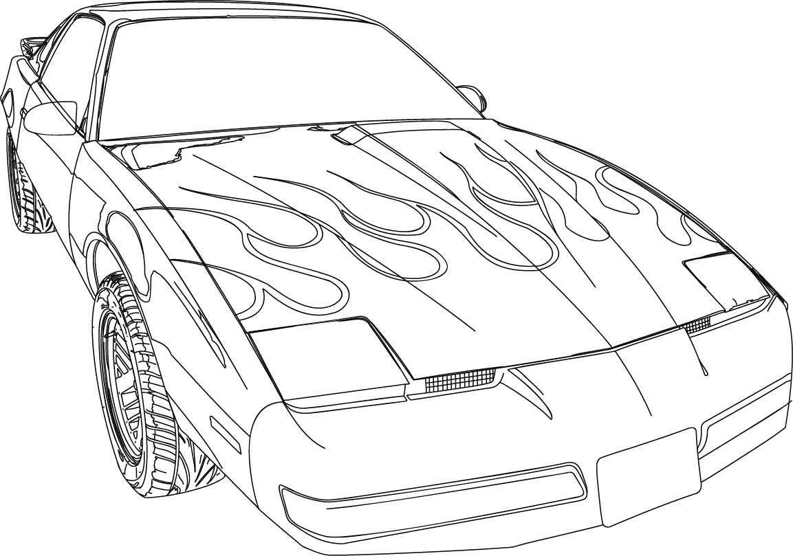 Coloriage Voiture Fast And Furious