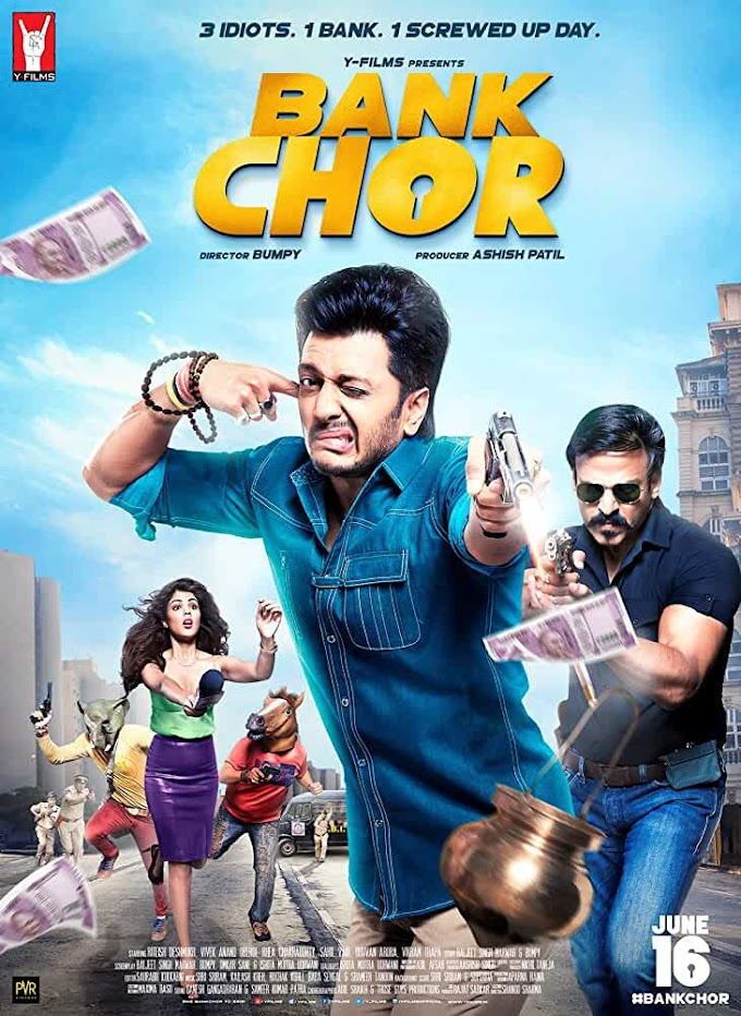 Bank Chor (2017) Hindi 720p HEVC HDRip x265 AAC ESubs Full Bollywood Movie [600MB]
