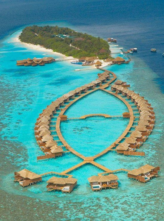 Lily Beach Resort & Spa, Maldives | Incredible Pictures  WOW