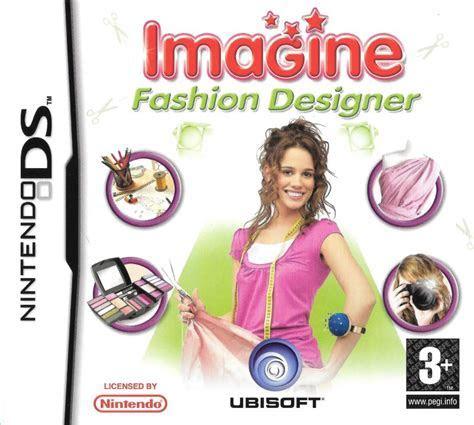 Imagine: Fashion Designer (2011) Nintendo 3DS box cover