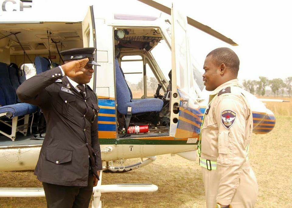 Ex Niger Delta Militant Becomes Police Pilot, Decorated With New Rank (Photos)
