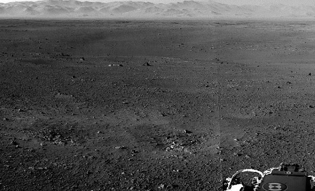 Imagen panorámica de la superficie de Marte. | NASA