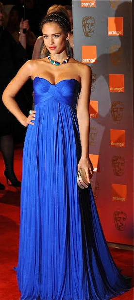 Evening gown, couture, evening dresses, formal and elegant Versace Blue