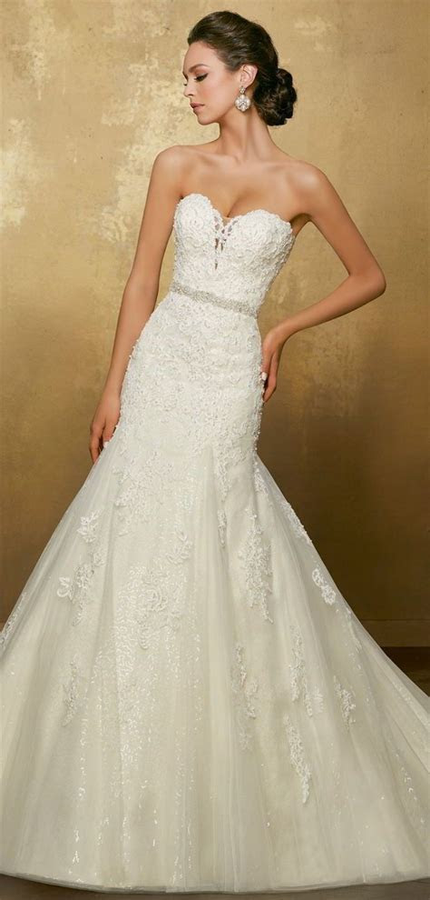 405 best Fit & Flare Wedding Dresses images on Pinterest