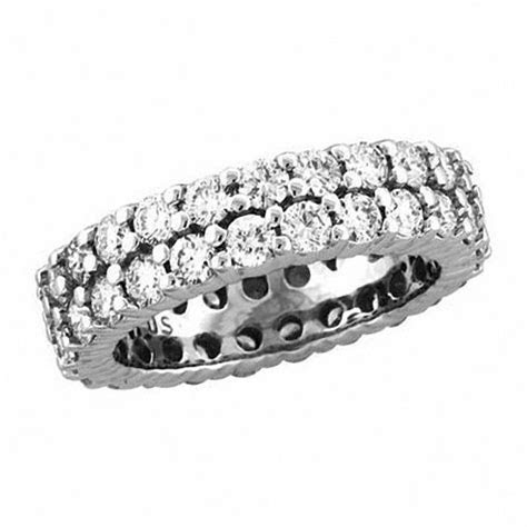 2 7/8 CT. T.W. Certified Diamond Double Row Eternity