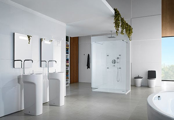 Roca, decoracion, baños
