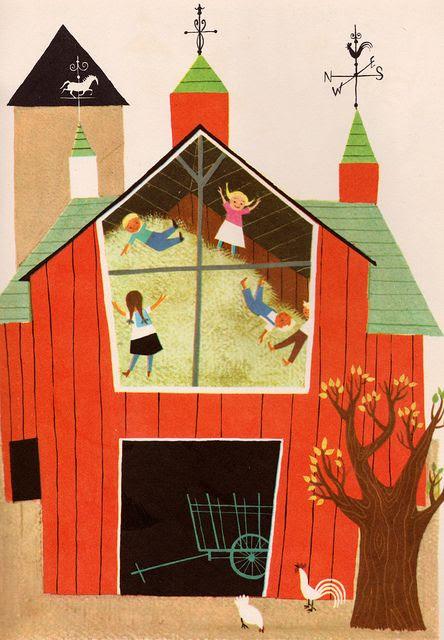 A Child's Garden of Verses - by Robert Louis Stevenson, illustrated by Alice & Martin Provensen (1951).