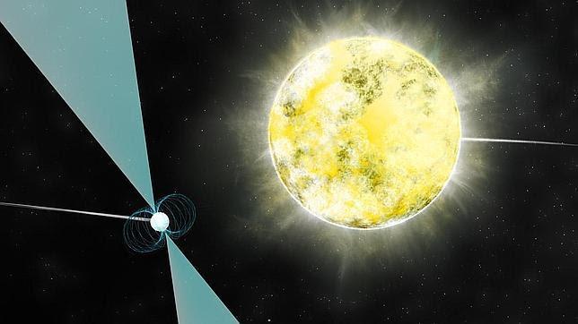 Descubren en el espacio un diamante del tamaño de la Tierra