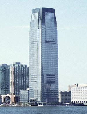 Goldman Sachs Tower, at 30 Hudson Street, in J...