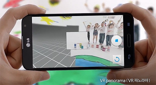 LG flaunts Panorama VR feature on Optimus G Pro video
