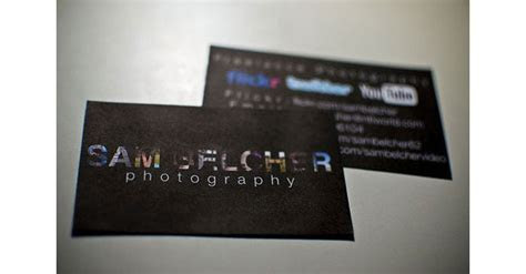 Creative Photography Business Cards   31 Examples