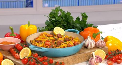 Alison Hammond one-pot wonder chicken with chorizo and ...