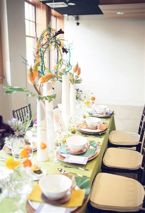 Picture Of 60s Wedding Decor Inspiration