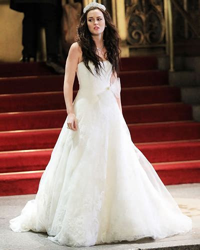 Gossip Girl : Blair's Wedding Gown   The Top 20 TV Fashion