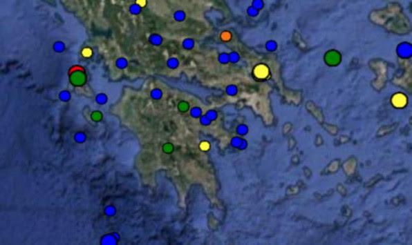 Σεισμός στην Κεφαλονιά ταρακούνησε όλο το νησί - Στα 5 χιλιόμετρα το εστιακό του βάθος!