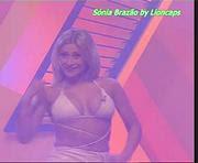 Sónia Brazão sensual no tempo do programa ri-te ri-te