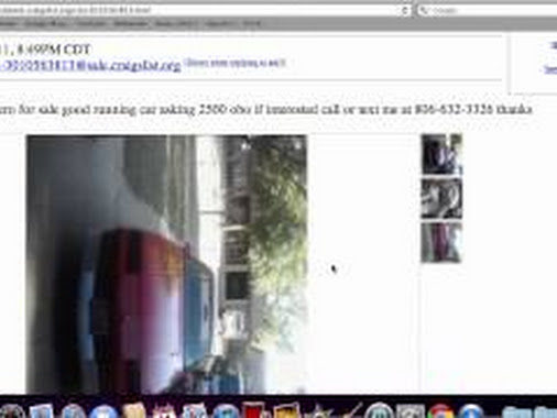 Craigslist Lubbock Used Cars For Sale By Owner – Local ...